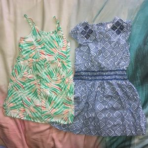 2 Girls dress 5T used